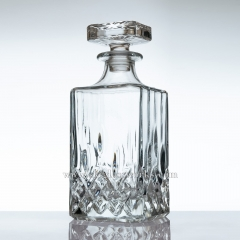 750ml Classic Square Whiskey Decanter