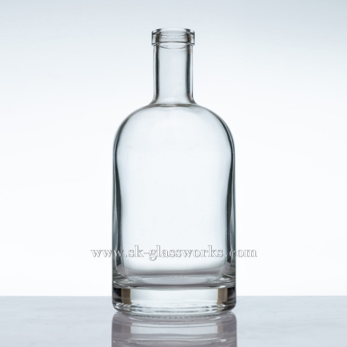 750ml Glass whisky Bottle for sale
