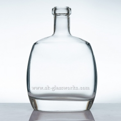 750ml Cognac Glass Bottle