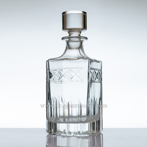 550ml High Quality Crystal Whiskey Decanter