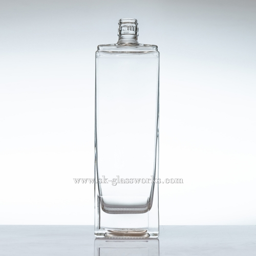 500ml Square Glass Liquor Bottle