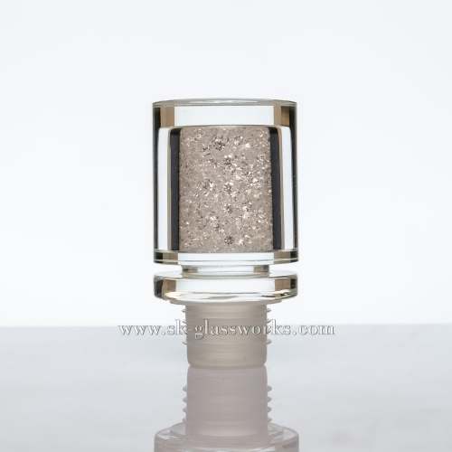 Crystal Glass Cap T-cork Bottle Stopper