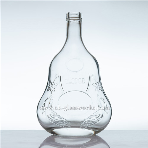 500ml Glass Brandy Bottle