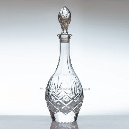 850ml Elegant Crystal Wine Decanter